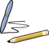 Pen And Pencil Clip Art
