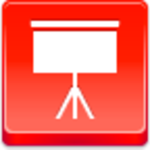 Free Red Button Icons Easel Image