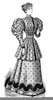 Black And White Clipart Of Women Image