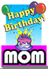 Free Happy Birthday Mom Clipart Image