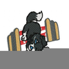 Agility Tunnel Clipart Image