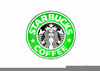Starbucks Coffee Clipart Image