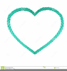 Heart Shaped Rope Clipart Image