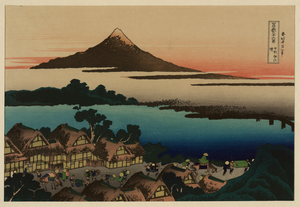 [pictorial Envelope For Hokusai S 36 Views Of Mount Fuji Series] 9 Image