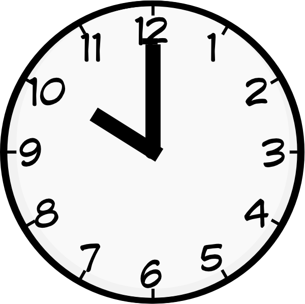 10 O Clock Clip Art at Clker.com - vector clip art online, royalty ...