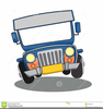 Animated Jeep Clipart Image