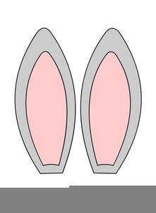 easter bunny ears clipart free images at clker com vector clip rh clker com Bunny Ears Silhouette Bunny Ears Silhouette