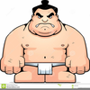 Animated Sumo Wrestler Clipart Image