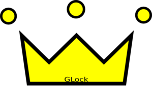 Glock Crown Clip Art
