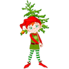 Cute Christmas Tree Clipart Image