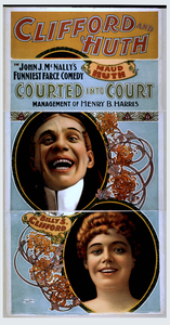 Clifford And Huth In John J. Mcnally S Funniest Farce Comedy, Courted Into Court Image