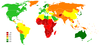 Life Expectancy World Map Image