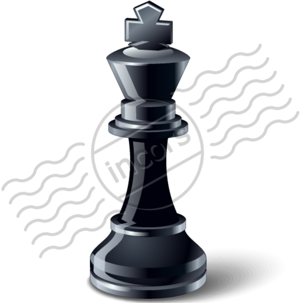 King And Queen Chess Piece Tattoo Chess piece image - vector
