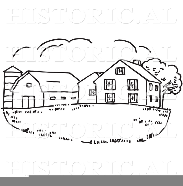 Black And White Barn Clipart Free Images At Clker Com