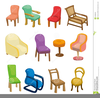 Cartoon Furniture Clipart Image