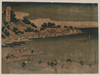 The Coast Of Nobuto In Shimosa Image