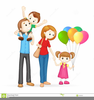 Free Clipart Happy Family Image