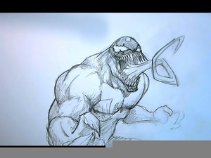 Venom Drawing Easy Image