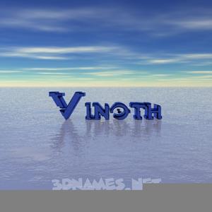 Vinoth Name Wallpaper Free Images At Clkercom Vector Clip Art