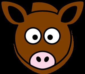 Donkey Head Clip Art at Clker.com - vector clip art online ...
