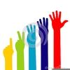 Hand High Five Clipart Image