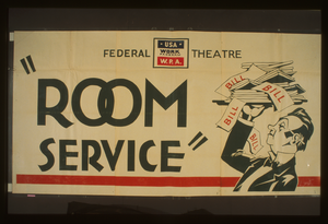 Federal Theatre [presents]  Room Service  Image