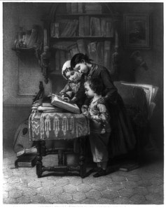 The Reading Lesson Image