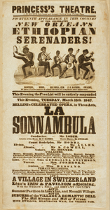 Fourteenth Appearance In This Country Of The Celebrated New Orleans Ethiopian Serenaders Image