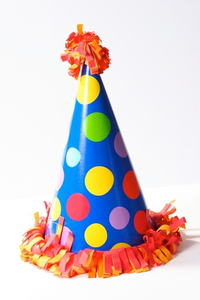 D A Fa Ff Acbb Party Hat Polka Dot Image