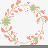 Free Floral Design Clipart Image