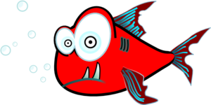 Red Fish Clip Art