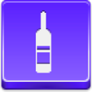 Free Violet Button Wine Bottle Image