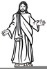 Sacred Heart Jesus Clipart Image