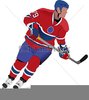 Free Clipart Hockey Player Image