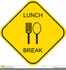 Out Lunch Clipart Image
