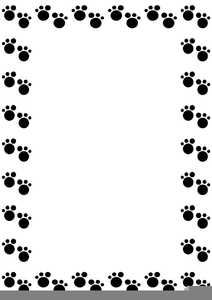 Paw Print Border Clipart Free Images At Clker Com Vector Clip Art Online Royalty Free Public Domain The files are available immediately for download after purchase. clker