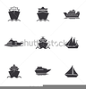 Sailing Clipart Black And White Image