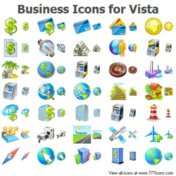 Business Icons For Vista   Free Images at Clker.com ...