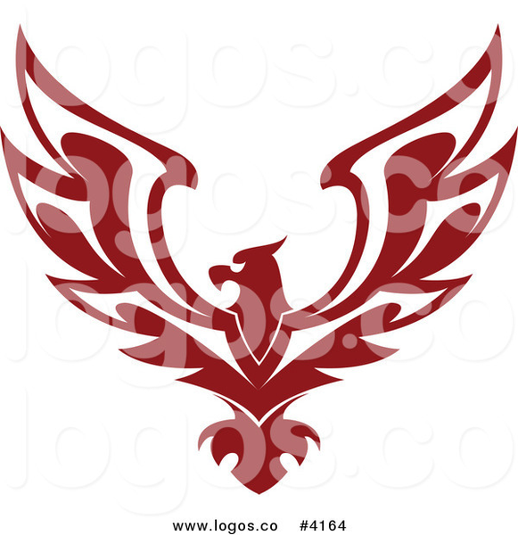 Royalty Free Red Eagle Logo By Seamartini Graphics   Free ...