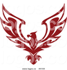 Royalty Free Red Eagle Logo By Seamartini Graphics Image