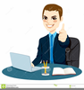 Clipart Of Someone Typing Image