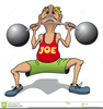 Weightlifter Clipart Free Image
