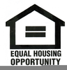 Equal Housing Symbol Clipart Image