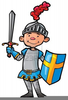 Knights Of The Round Table Clipart Image