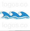 Ocean Wave Graphic Image