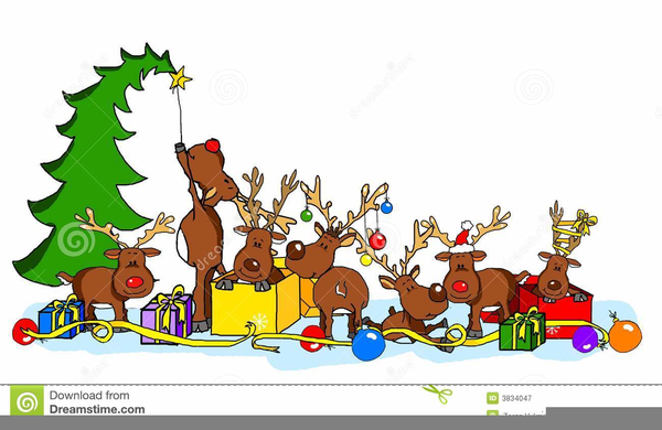 download this image as - Christmas Party Clipart