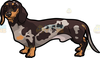 Brown Dog Cartoon Clipart Image