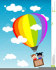 Animated Hot Air Balloon Clipart Image