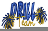 Free Clipart Drill Team Image