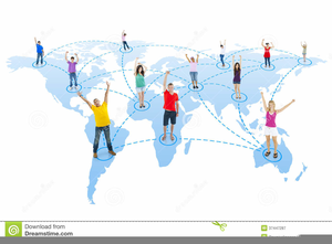 Free Clipart Of People Around The World Image